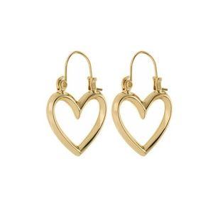 Luv AJ Heartbreaker Mini Hoop Earrings